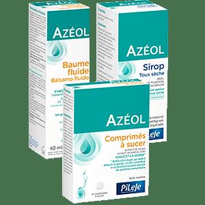 azeol baume fluide azeol sirop azeol comprimés