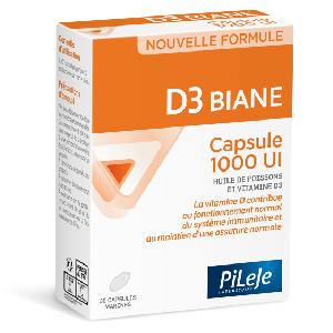 D3 Biane Capsule 1000 UI