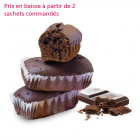 Mini cake tout chocolat